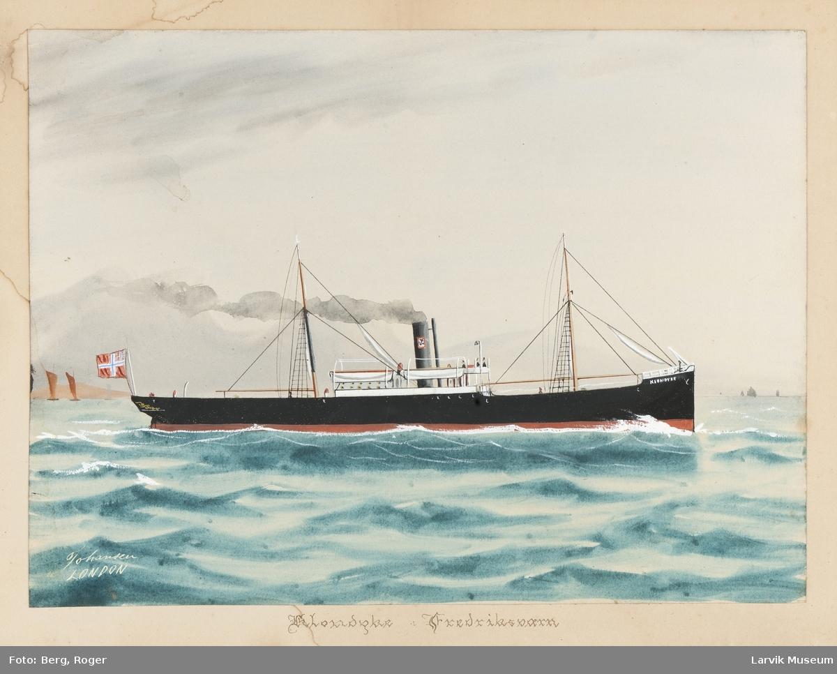 Dampskipet Klondyke av Stavern