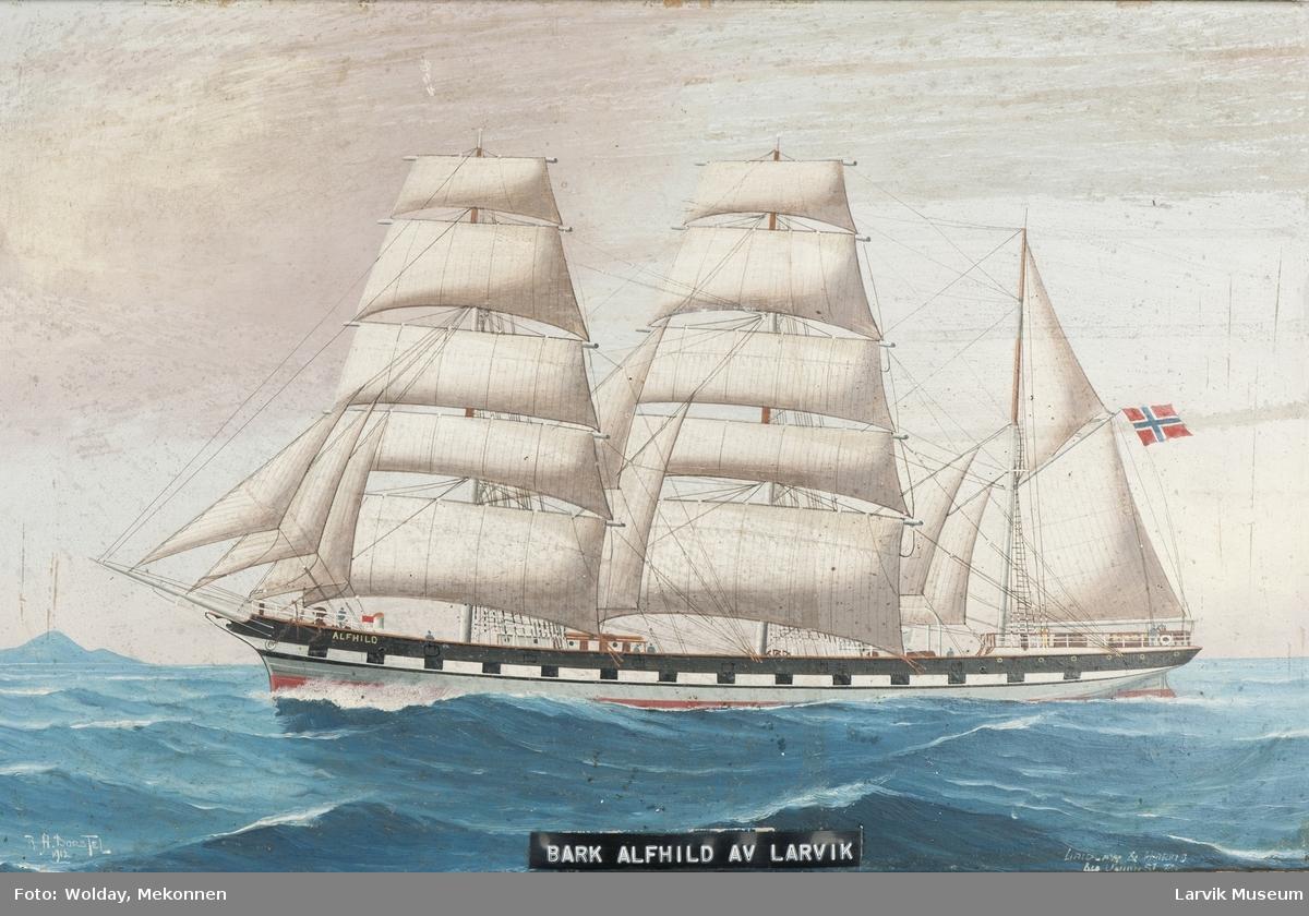 Barken Alfhild av Larvik