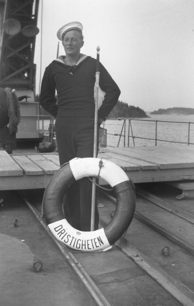 Övrigt: Skeppsgosse ombord på Dristigheten