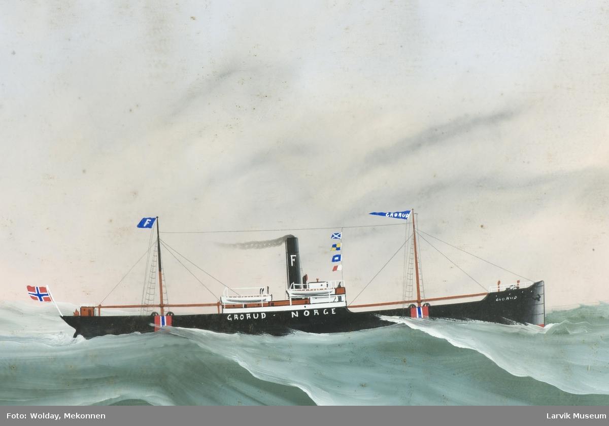 Dampskipet Grorud av Norge