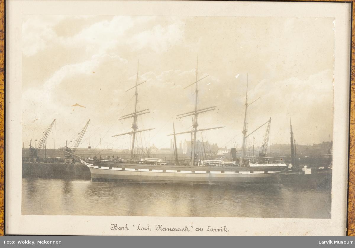 """Bark """"Loch Rannoch"""" av Larvik"""