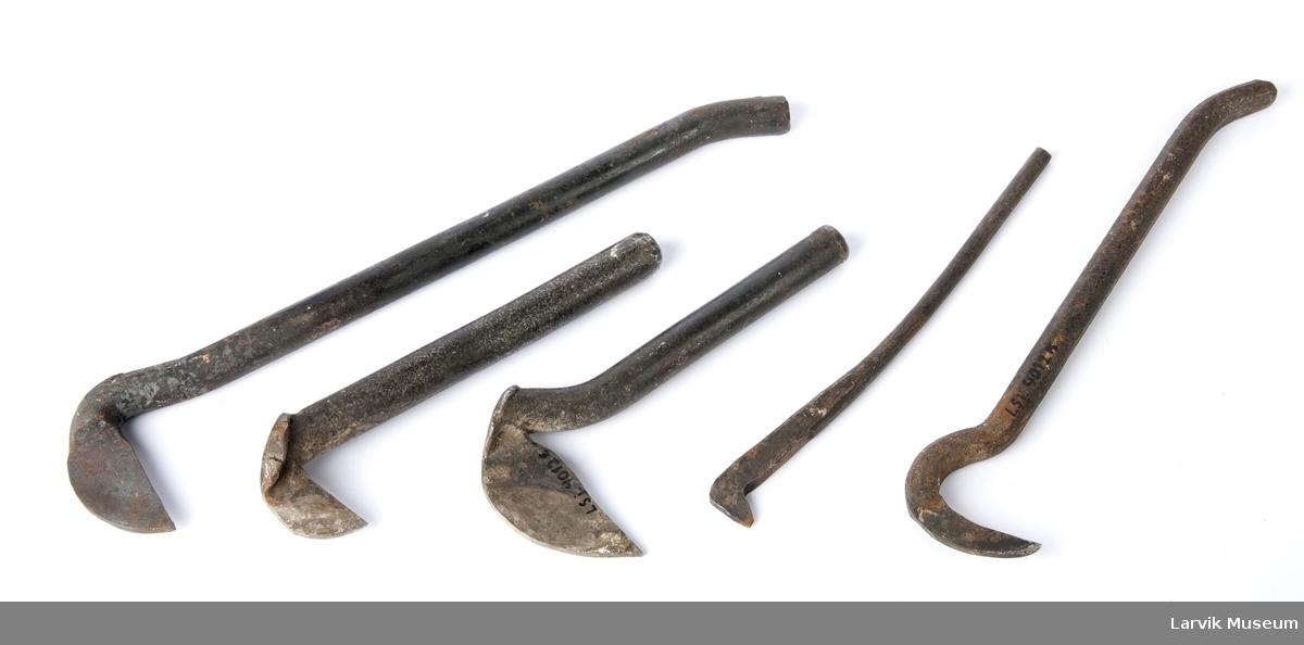Div. tømmermannsverktøy - 5 drevkroker