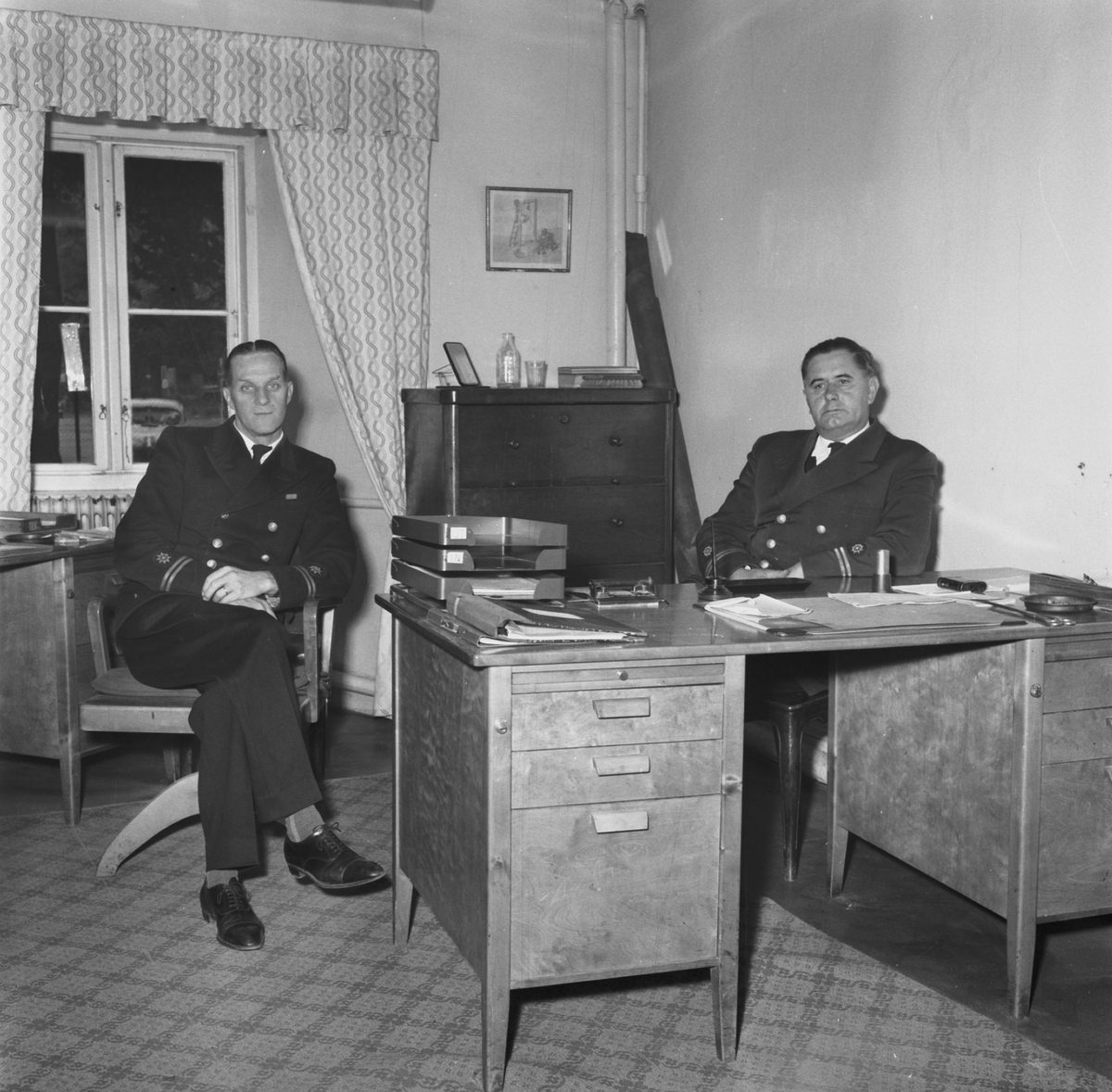 Övrigt: Ing. Palmén, kapt Oredsson, Frk Frick, flst .Julin och Björkman