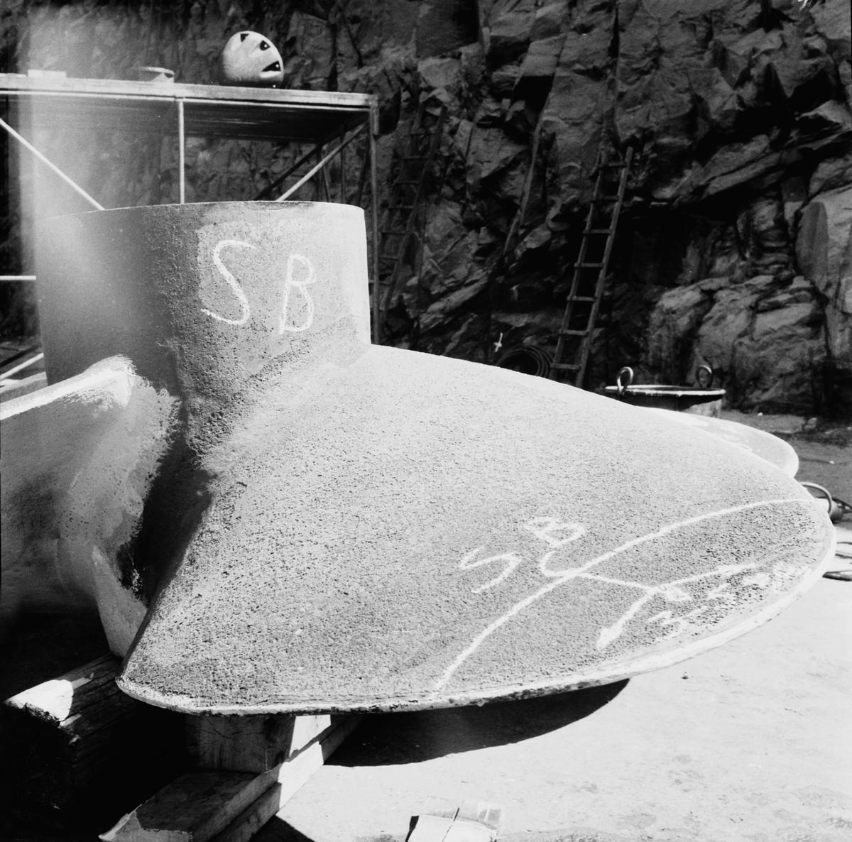 Fartyg: THULE                           Rederi: Svenska staten Byggår: 1953 Varv: Örlogsvarvet, Karlskrona Övrigt: Propellerskada.