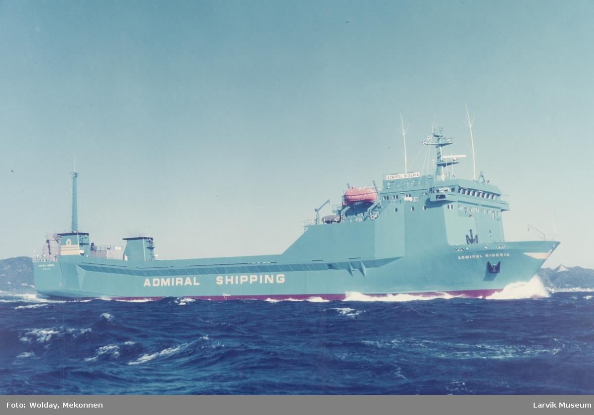 MS Admiral Nigeria