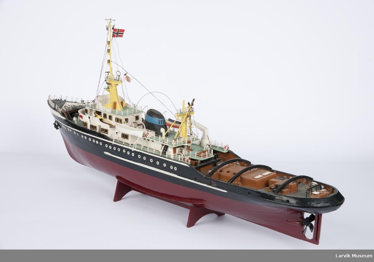 Modell av Swarte Zee