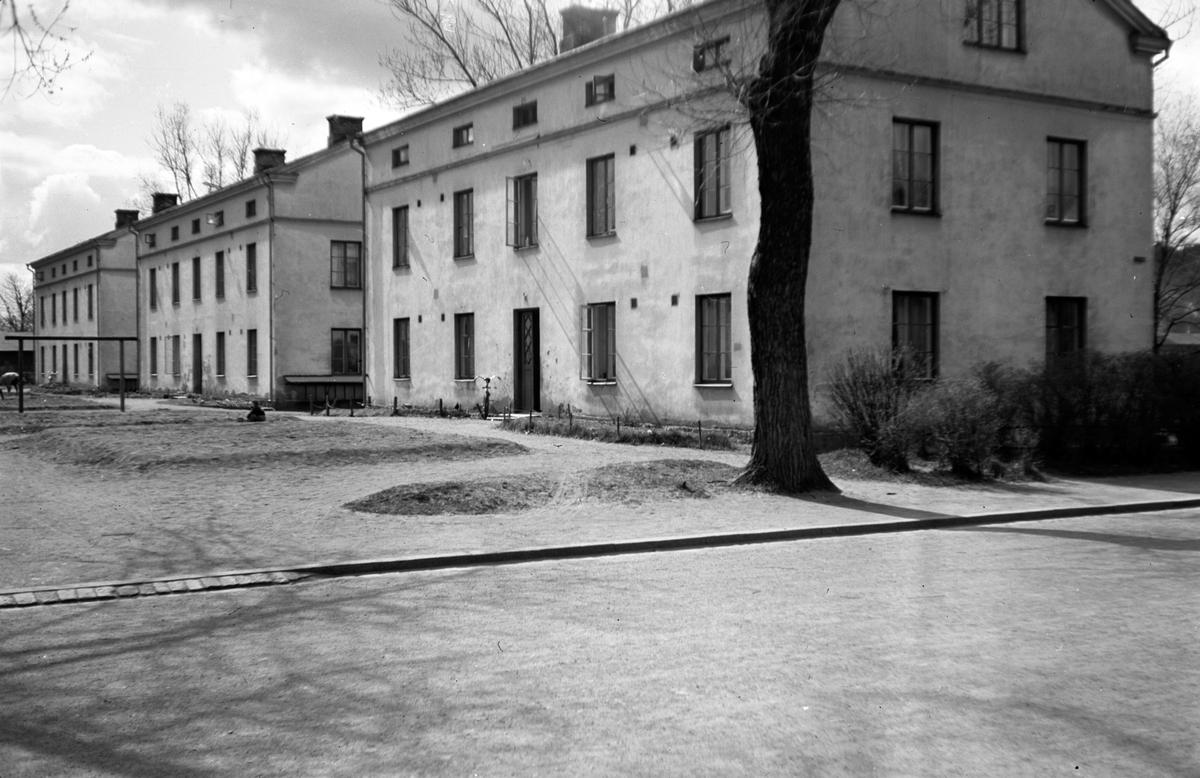 """Bostadshus """"Bostäderna"""" i kvarter Jägmästaren i Jönköping."""