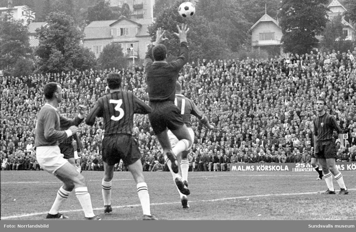 Fotboll, GIF Sundsvall-Djurgården 1-6.