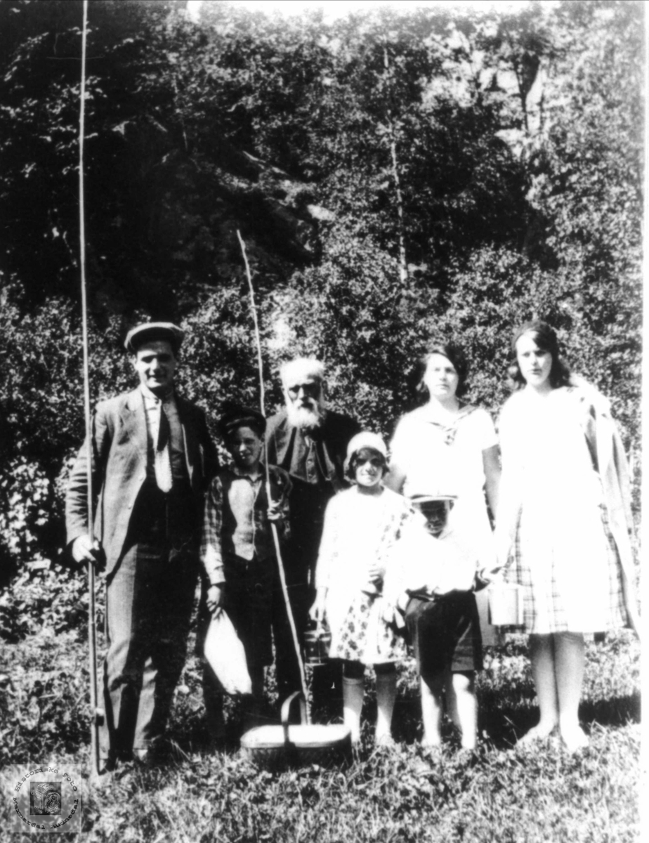 Heddelandsfolk ca 1930