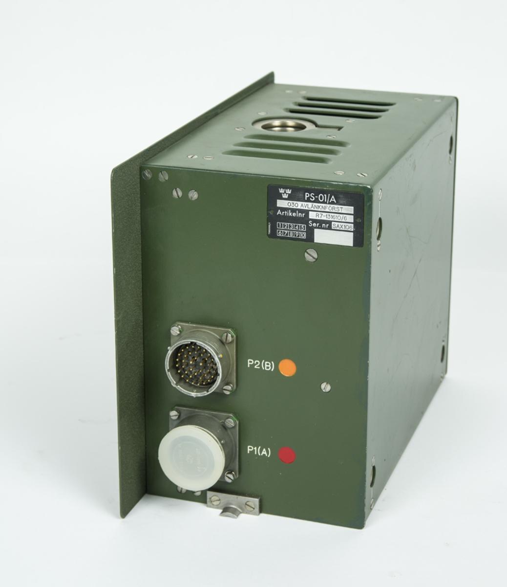 Avlänkningsförstärkare R7-131610/6 till Radarstation PS-01/A.