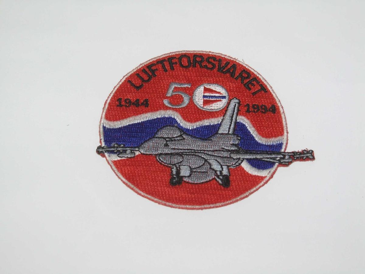 Bekledning Tøymerke Luftforsvaret 50 år