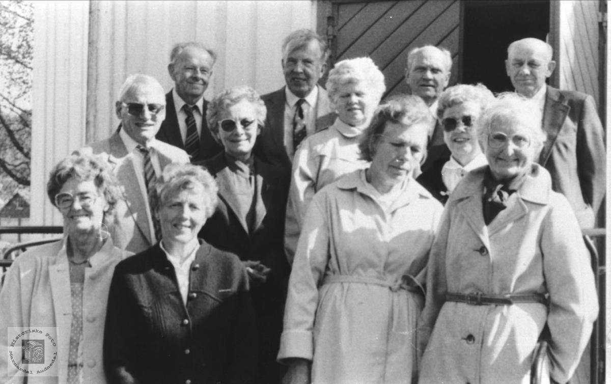 50 års konfirmanter Øyslebø
