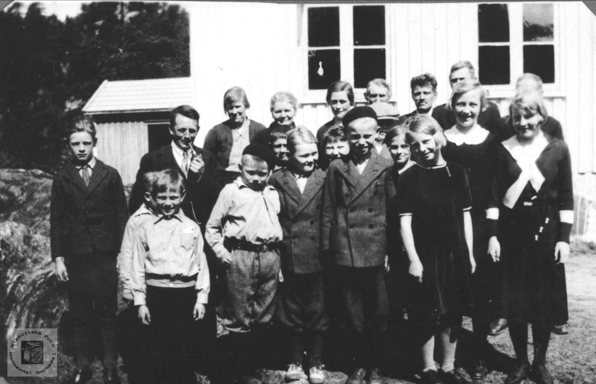 Eksamensdag, Eikså skole 1934