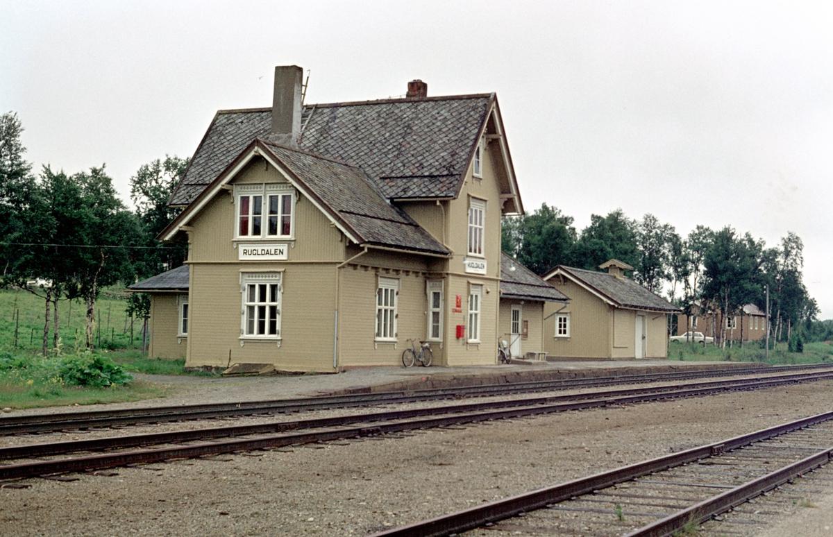 Rugldalen stasjon.