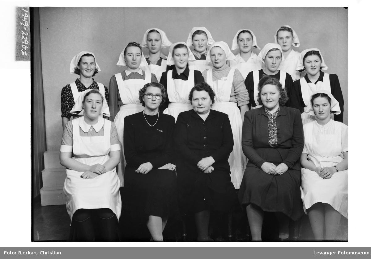 Gunda Skjerve med sine elever