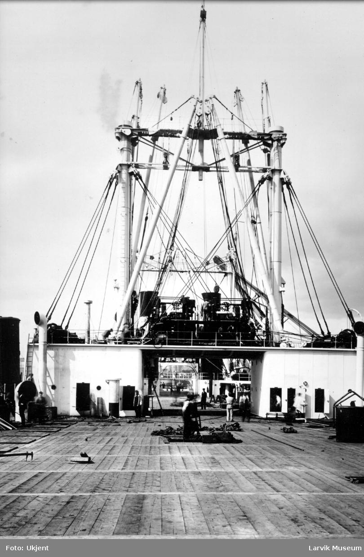Fartøy, hvalkokeri, akterdekket