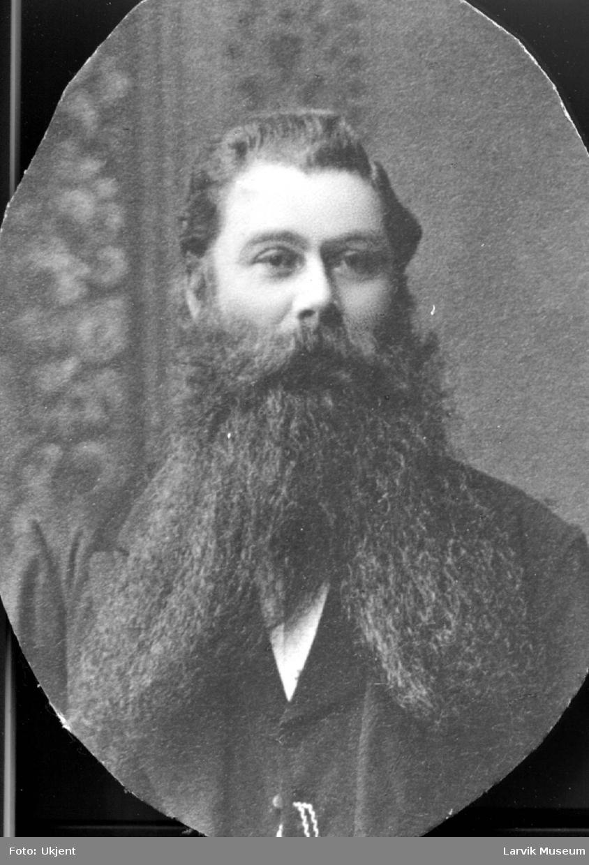 portrett, mann, kaptein Sølsberg