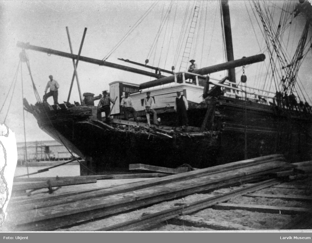 """fartøy, seilskip, bark """"Strathern-Maitland"""""""