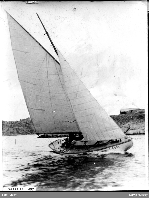 fartøy, seilbåt, Anker Jensen