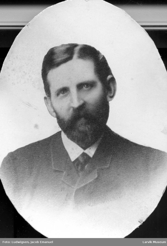 portrett, mann, kaptein Otto Steen