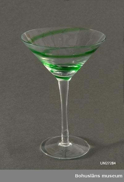 "Glaset heter ""Barbro Martini""."