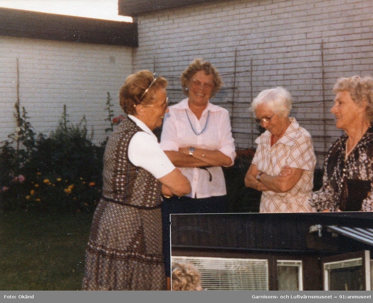 Middag hos Rosa med gamla bilkårister.