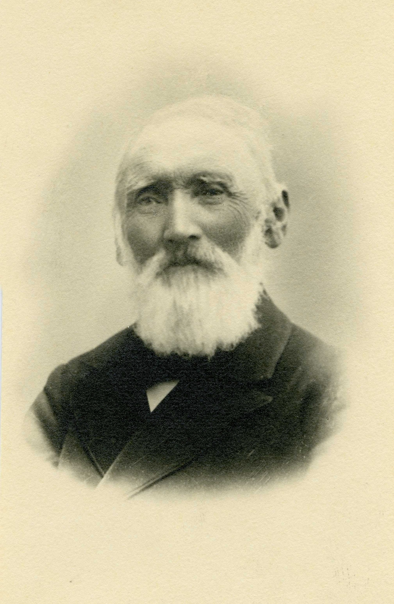 Portrett - O.A. Olsen, Hasseløy. 1829 - 1914.