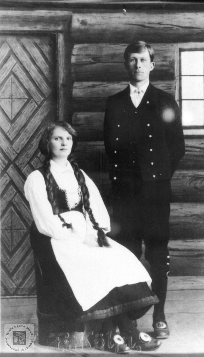 Marta og Tobias Steinsland.