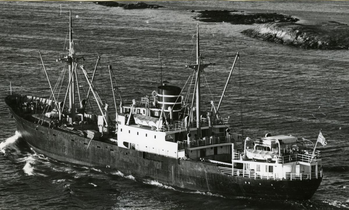 Ägare:/1948-69/: A/S Det Bergenske Dampskibsselskab. Hemort: Bergen.