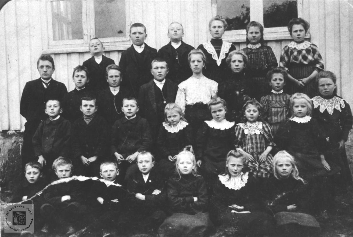 Eikså skole 1910