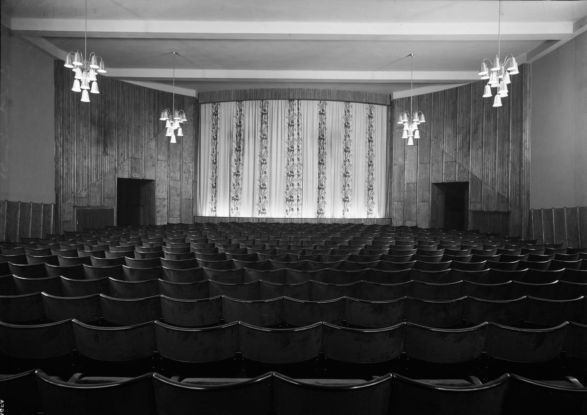 Salongen i biografen Röda Kvarn, Trädgårdsgatan, Uppsala i september 1944