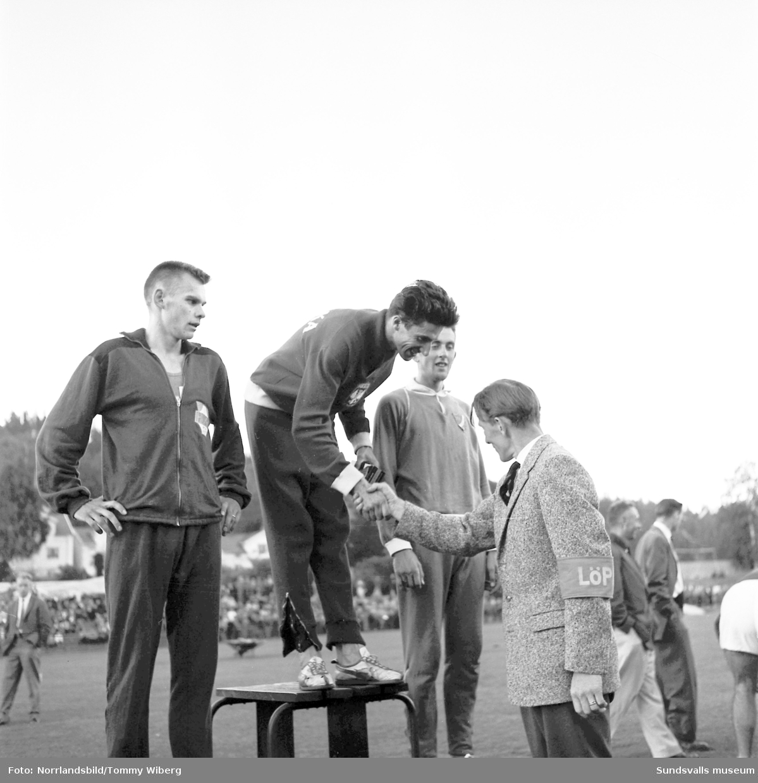 Amerikaspelen i friidrott i Idrottsparken.
