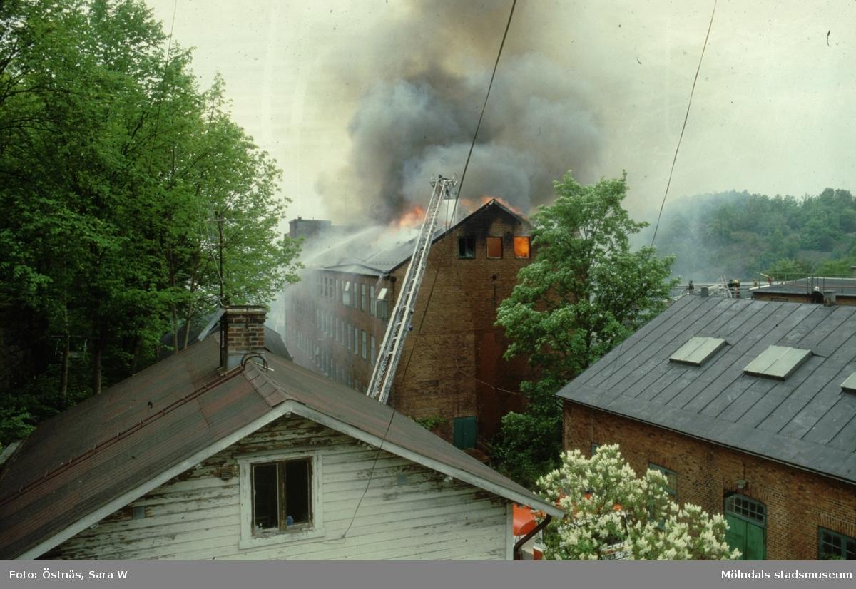 Branden i Götafors den 4 juni 1986.