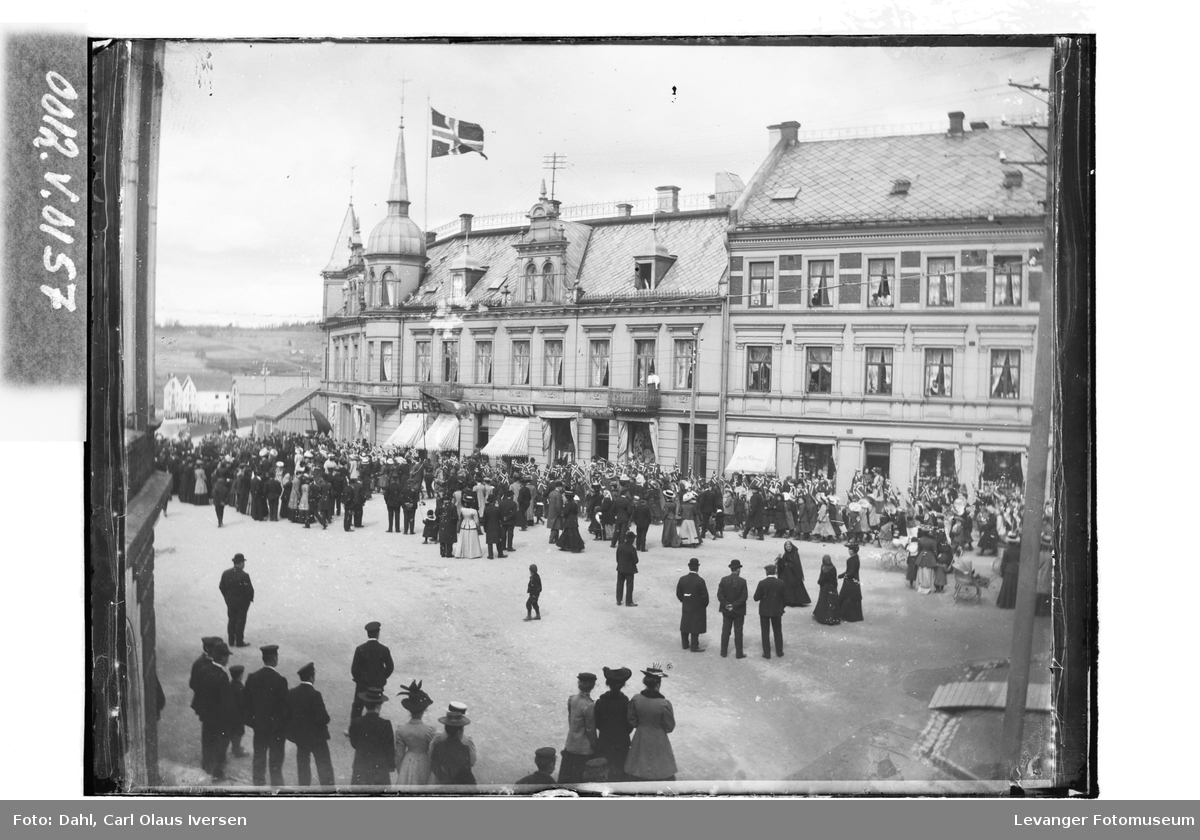 Fra Kongensgate mot Torget på Steinkjer II