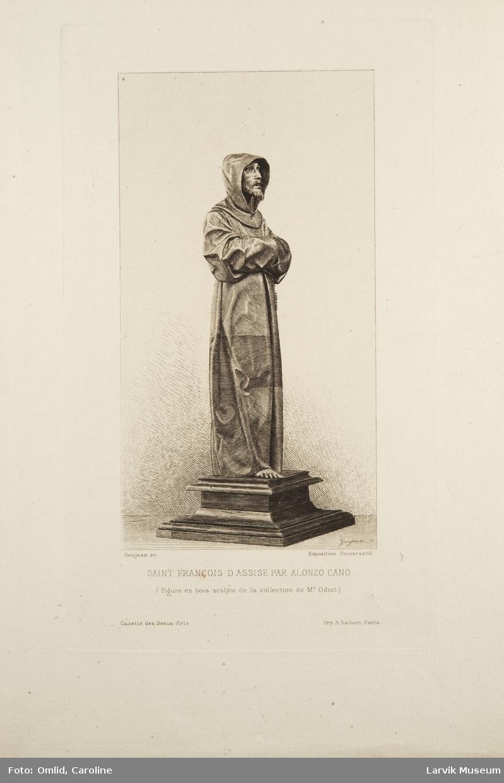 Saint Francois d'Assise par Alonzo Cano.