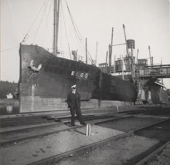 Fotot taget 1938.
