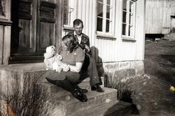 Idyll på trammen, Ågedalstrand, Bjelland senere Audnedal.