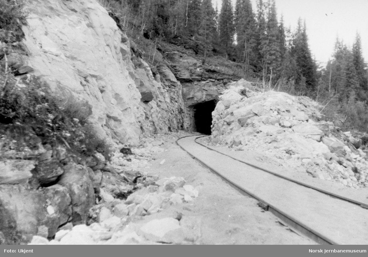 Storforshei tunnel, nordre portal