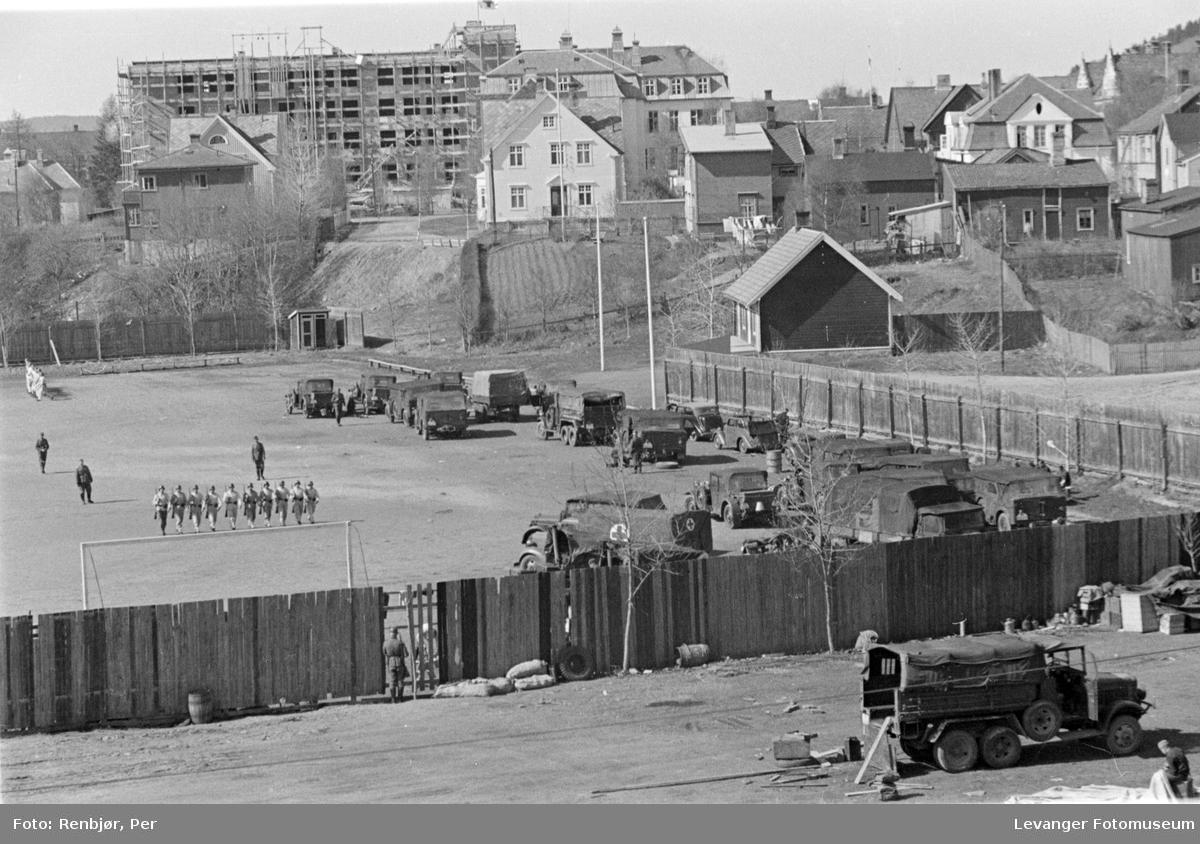 Den tyske okkupasjonsmakten tar Stadion i bruk