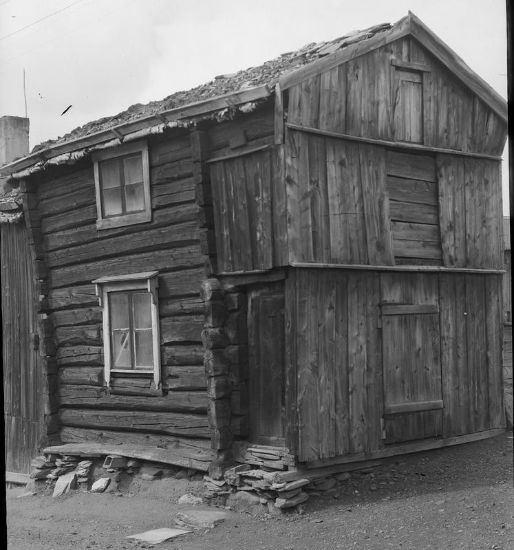 Fotografi av Bokkstuggu, antagelig fra første halvdel av 1900-tallet.