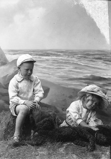 """Enligt fotografens journal nr 2 1909-1915: """"Ekstedt Fru Här""""."""