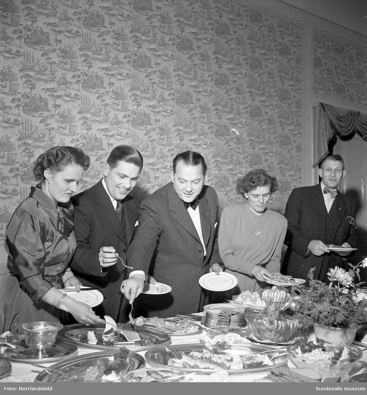 GIF Sundsvalls årsfest 1949.