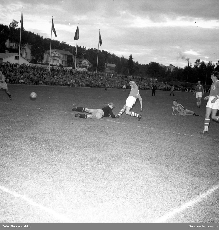 GIF Sundsvall blir distriktsmästare i fotboll.