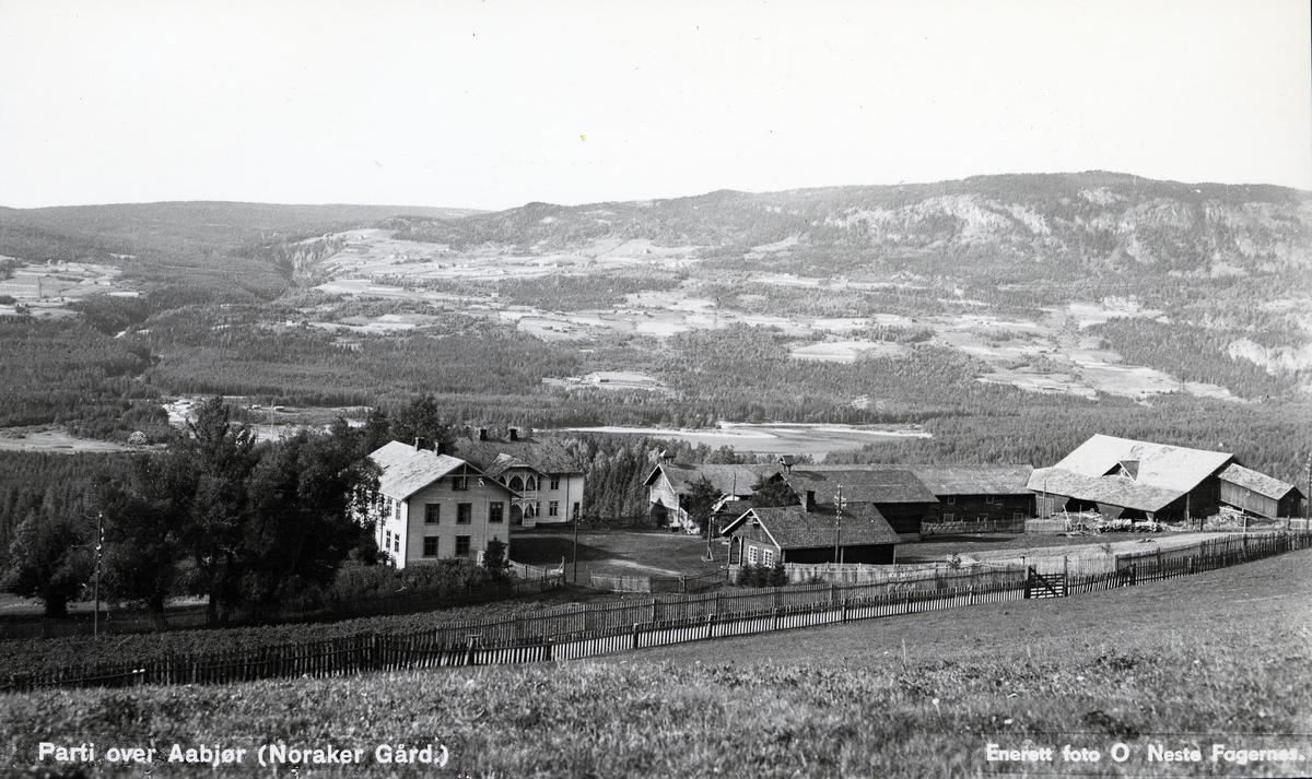Bebyggelse på gården Noraker