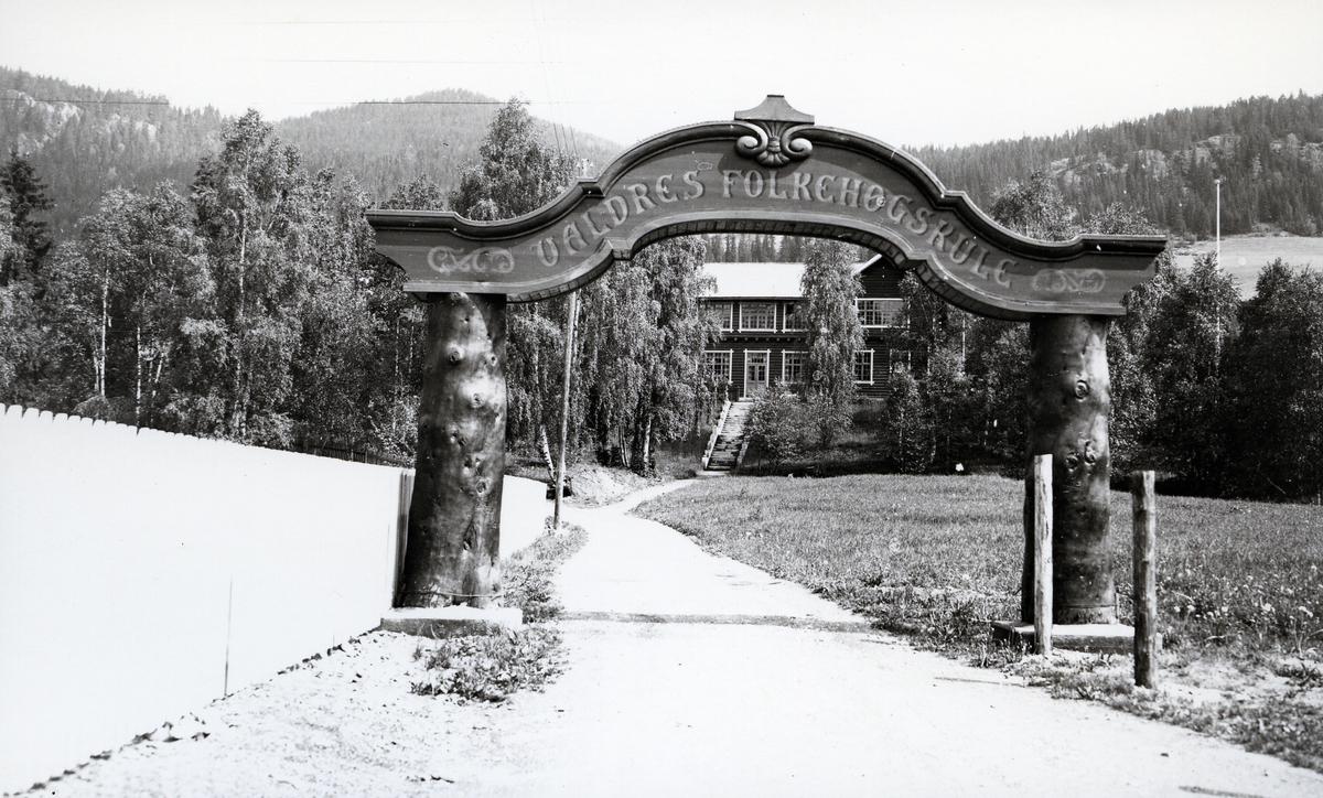 Porten til Valdres Folkehøgskule