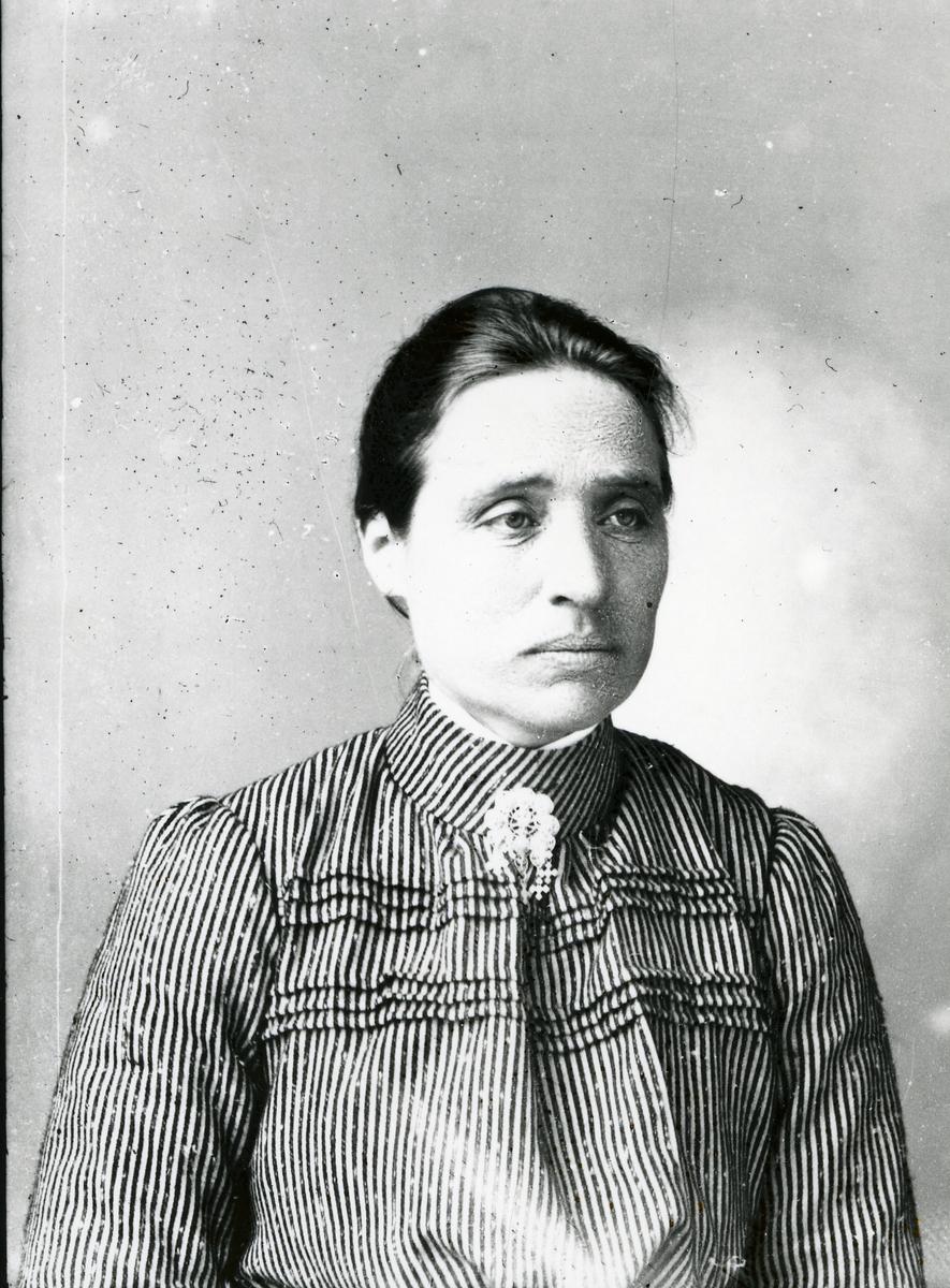 Portrett av Anne Tomten f. Hallebakke, Ulnes
