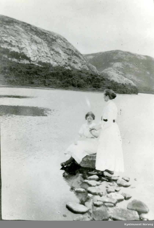 Elfrida Haugan og Signe Solberg