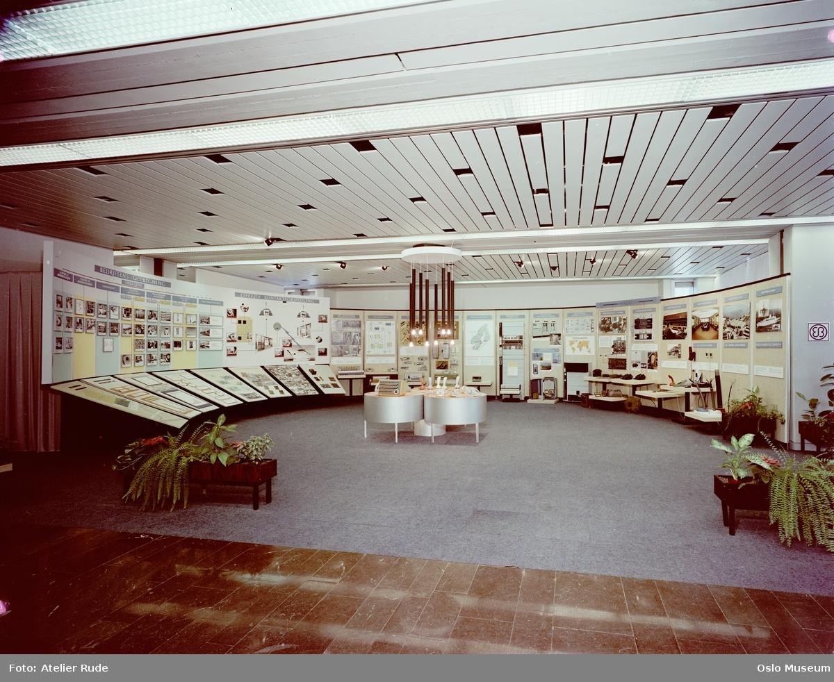 Elektrisk Bureau, interiør, utstilling om bedriften