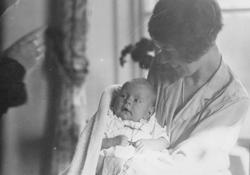 Lydia Cherry Thams med datteren Stella.