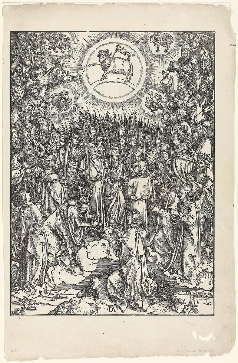 Tilbedelsen av lammet [Grafikk]